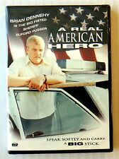A Real American Hero ~ New DVD Movie ~ Brian Dennehy Police Action Drama Video