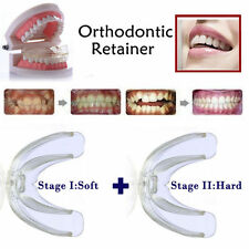 2pcs Soft Hard Dental Orthodontic Teeth Braces Tooth Retainer - Phase I + II TY