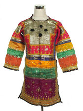 antik Orient Banjara Choli Tracht kleid silk Embroidery Dress indien Pakistan 19