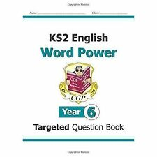 KS2 English Word Power Year 6 Targeted Question Book 9781782942085 CGP New SATS