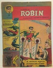 LA REVISTA DE ROBIN V2 #19 ARGENTINA COMIC 1951 VIGILANTE GREEN ARROW BATMAN
