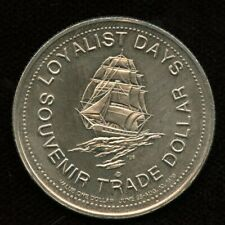1979 Saint John, New Brunswick Trade Dollar Token Canada Coin Loyalist Days