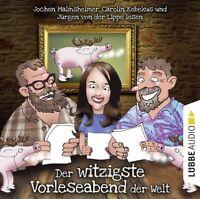 JÜRGEN VON DER LIPPE - DER WITZIGSTE VORLESEABEND DER WELT  2 CD NEU