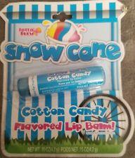 Snow Cone Cotton Candy flavored Lip balm~Rare Vintage Collectible