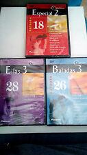 """DVD """"KARAOKE BALADAS 3 / ELLAS 3 / ESPECIAL 2"""" 3 DVD PRECINTADO"""