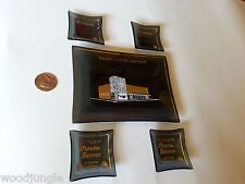 Washington Savings Altadena Federal Coast Glass Dish Coin Ashtray Hollywood