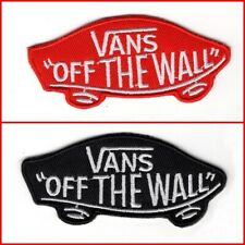1Vans/Off-the-Wall embroidery patch