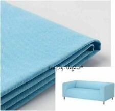 Ikea Klippan Cover for Loveseat 2 seat sofa Vissle Light Blue Klippan Slipcover