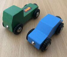 Authentic Brio Wooden Train Mini Cars! Thomas!