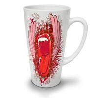 Mouth Lips Wings NEW White Tea Coffee Latte Mug 12 17 oz | Wellcoda