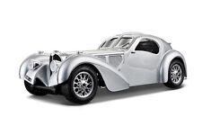 1:24 Bugatti 57SC Atlantic by Bburago in Silver 18-22092S
