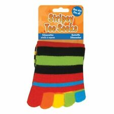 Stripey Toe Socks Foot Glove Light Slippers One Size Fits All 1of2 Assorted