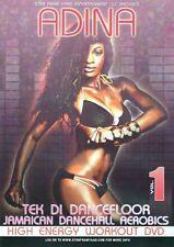ADINA JAMAICAN DANCEHALL AEROBICS HIGH ENERGY WORKOUT DVD EXERCISE DANCING NEW