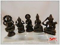 B578 China 5 stücke Mini Buddha Guanyin Ganesha Shakyamuni Manjushri Geshenk