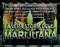 DVD La vera storia della marijuana Documentario Massimo Mazzucco Film Italiano