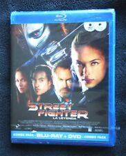STREET FIGHTER: LA LEYENDA. COMBO: BLU RAY + DVD. KRISTIN KREUK, NEW & SEALED!