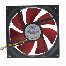 3PIN 90MM X 25MM 12V Brushless Computer DC Heat Sink Cooler Cooling Fan