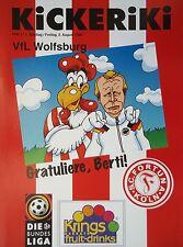 Programm 1996/97 SC Fortuna Köln - VfL Wolfsburg