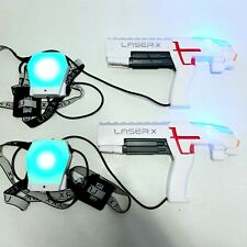Laser X Fusion Laser Tag 2 Player Set Blaster Guns With Chest Targets