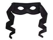 Mens Black Masquerade Mask Zorro Bandit Mask - Next Day Capital Cities excl WA