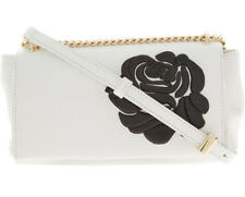 BLUMARINE Cecile Rose Shoulder Bag With Gold Coloured Metallic Chain Strap BNWT