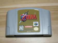 The Legend of Zelda Ocarina of Time 64 Game Cartridge for Nintendo N64 Console