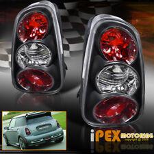 NEW For All 2002 2003 2004 Mini Cooper Black Set Tail Lights