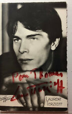 Laurent Terzieff - Film / Theater - original Autogramm  - Größe 14 x 9 cm