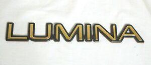 "1995 - 2001 CHEVROLET ""LUMINA"" 24K GOLD PLATED SIDE DOOR EMBLEM - 10122036"
