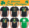 St. Patrick's Day T-Shirt Mens Funny Tee Top Paddy's Irish Ireland Beer Rugby