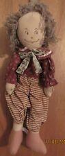 Pre-owned 23� Vintage/handmade look, Cloth Boy Rag Doll,