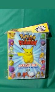 Pokemon Stadium 3D Tazos- 51/50 BNWT complete -Sealed!!!