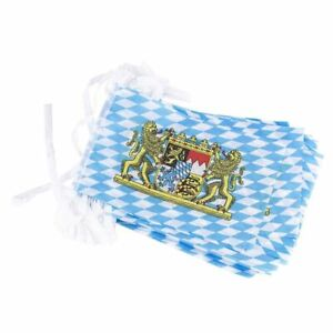 100-Pack Bavarian Oktoberfest String Flags, 80-Feet German Theme Party Pennant