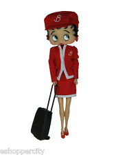 Betty Boop Airline Flight Attendant  Uniform Doll 12""