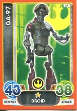 Star Wars The Force Awakens Force Attax Extra Card #29 GA-97