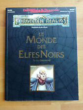 Advanced Dungeons and Dragons (AD&D2) - FG - Le Monde des Elfes Noirs - VF