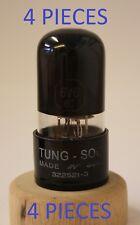 6V6GT TUNG-SOL USA NOS 4 PIECES BLACK GLASS TUBES VALVES