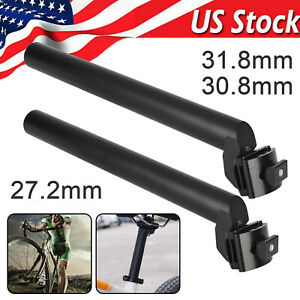 Pipe//Rowboat Seatpost RMS Inn Aluminum Black 25,4 mm for Bike 26-28 CONDORINO