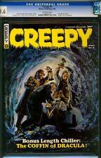 Creepy #8 (Apr 1966, Warren) CGC 9.6 Gray Marrow Dracula cover Highest Graded