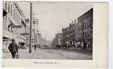 MAIN STREET, AMSTERDAM NY: USA postcard (C4917).