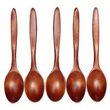 Wooden Spoon Bamboo Kitchen Cooking Utensil Tool Soup TeaspoonCatering Durable