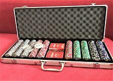 ORO CARD Professionale Set poker Casinò qualità valigetta in alluminio 500 fiches/r24/2