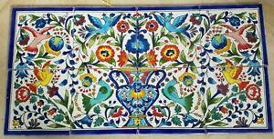 Birds of Paradise Ceramic Tile Mural Backsplash 30x60cm-Disrupted shipping
