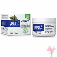 YES To Blueberries Deep l'inserimento notte crema 50ml ** gratis P&P **
