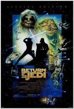 RETURN OF THE JEDI - R97 Special Edition - original 1-Sheet Movie Poster - 27x40