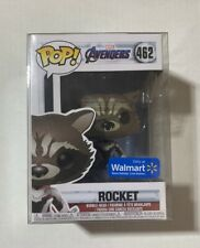 Funko Rocket Raccoon Walmart Avengers Endgame Marvel 462 With Soft Protector