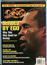 The Ring Boxing Magazine July 1997 Sugar Ray Leonard EX 060716jhe