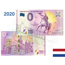 Billet Touristique Euro Souvenir '' Monarchs Netherlands Willem II '' 2020