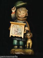 Anri Italian woodcarving Figurine statue of Hurdy Gurdy by Juan Ferrandiz