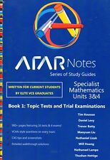 ATAR Notes VCE Mathematical Methods Units 3 and 4